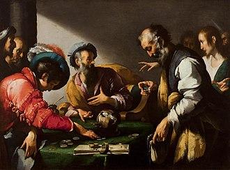 Bernardo Strozzi - Calling of St Matthew