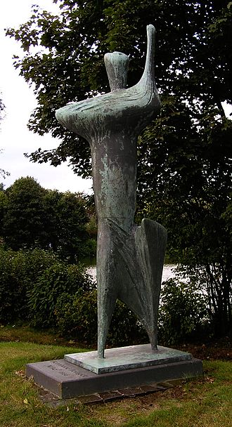 Bernhard Heiliger - Nike (1956), located in Marl