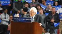 File:Bernie Sanders speaking at rally in Philadelphia on Native Americans and the planet, April 2016.webm