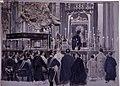 Beso al manto de la Virgen del Pilar, 30.10.1903, RABASF, oil painting by Mariano Pedrero.jpg