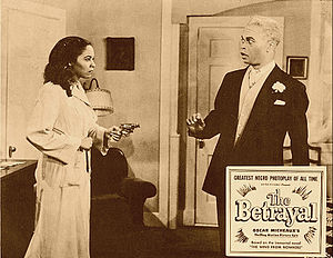 The Betrayal (1948 film) - Linda shoots her father, Dr. Lee, for ruining her marriage to Martin