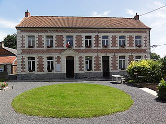 Bettrechies - Image: Bettrechies (Nord, Fr) mairie