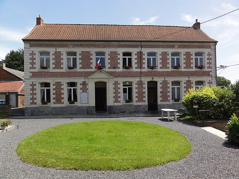 Bettrechies (Nord, Fr) mairie