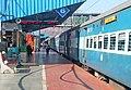 Bhubaneshwar bound Intercity Express at Visakhapatnam.jpg