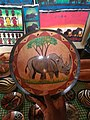 Big Wooden Plate with Animal Artwork.jpg