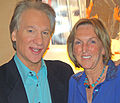 Bill Maher and Ingrid Newkirk by David Shankbone 2.jpg