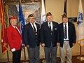 Bill Robbins (right) at Veterans Day Program and fellow Post 501 members.jpg