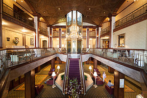 Providence Biltmore - Image: Biltmore Hotel interior Providence RI