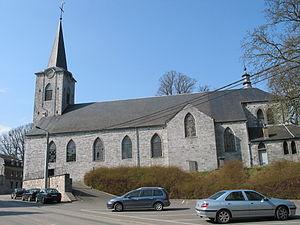 Bioul - Bioul: the church of Saint-Barthélemy
