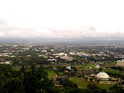 Nasik city from the Pandavleni Caves