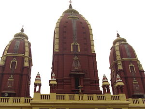 Laxminarayan Temple - The shikharas of the temple