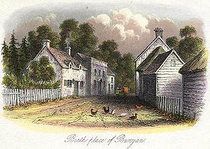John Bunyan - Bunyan's High Street cottage