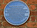 Blue Plaque, The White Horse Inn, Eaton Socon - geograph.org.uk - 1366103.jpg