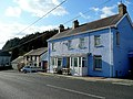 Blue house and pub at Alltwalis - geograph.org.uk - 1712291.jpg