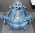 Blue jadeitite Chinese incense burner (Qing period, 1644-1911) 1 (49167533017).jpg