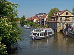 Boats on Regnitz Bamberg Germany.jpg