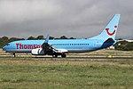 Boeing 737-8K5, Thomson Airways JP7533203.jpg