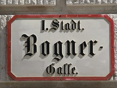 How to get to Bognergasse with public transit - About the place