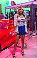 Booth-babe at E3 2012 (7350491288).jpg
