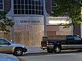 Boston George Floyd Protest, boarded windows on Newbury St. 2.jpg