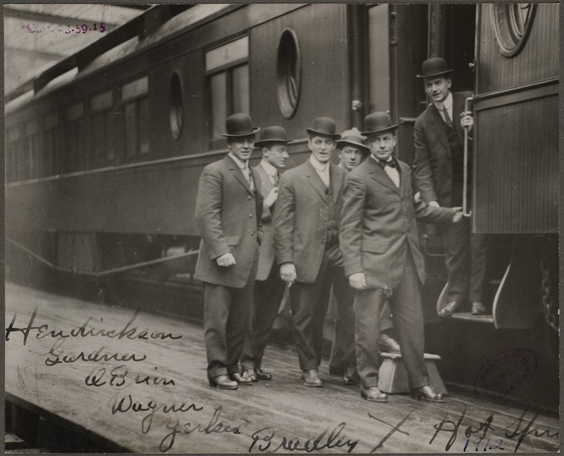 Boston Red Sox players in Hot Springs, Arkansas, for Spring Training