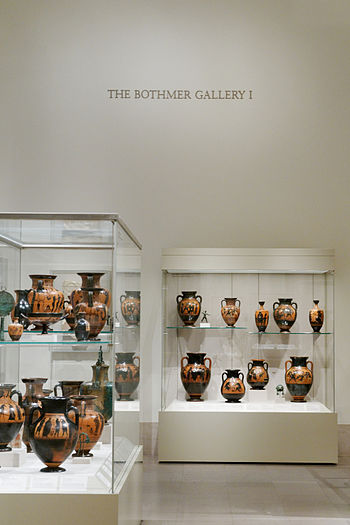 English: The Bothmer Gallery at the Metropolit...
