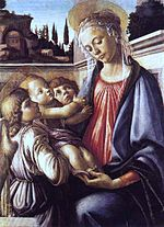 Botticelli - Madonna and Child and Two Angels (c. 1470).jpg