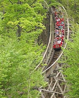 Boulder Dash (roller coaster) amusement ride