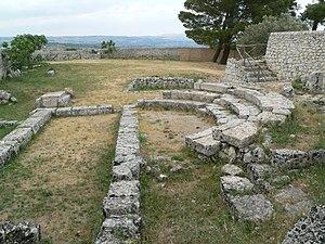 Bouleuterion ruins in Akrai