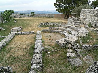 Akrai - Bouleuterion