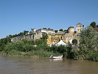 Côtes de Bourg - Remnant of some of the fortification along the Gironde in the Côtes de Bourg.