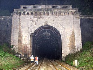 Box Tunnel - West portal