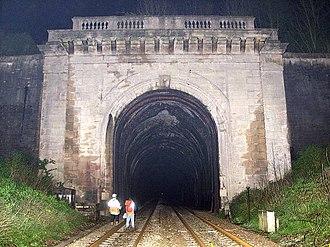 Box Tunnel - West portal