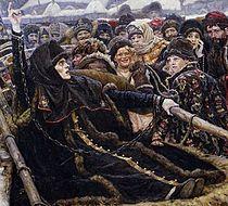 Boyaryna Morozova by V.Surikov (1884-1887, Tretyakov gallery) detail 01.jpg