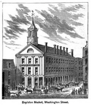 Linnaean Society of New England - Image: Boylston Market Kings Boston 1881
