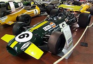 Brabham BT26 - Image: Brabham BT26 Tasman Donington