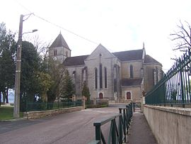 The church in Branges