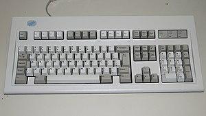 IBM PC keyboard - Image: Brazilian 104 key ABNT2 keyboard