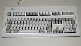 IBM PC keyboard - Image: Brazilian 104 key ABNT2 keyboard