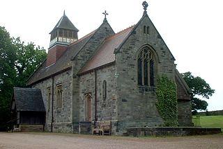 Bretby village and civil parish in South Derbyshire, England