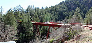 National Register of Historic Places listings in Fremont County, Colorado - Image: Bridge No. 10 Adelaide Bridge