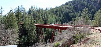 National Register of Historic Places listings in Fremont County, Colorado - Image: Bridge No. 10 Adelaide Bridge