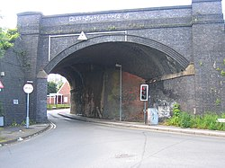 Bridge at Mill Lane and Station Road, Northfield - geograph.org.uk - 175070.jpg