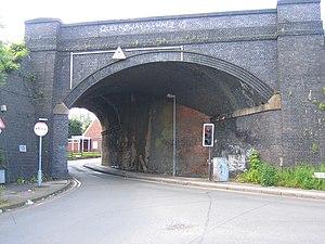 Birmingham and Bristol Railway - Bridge under the old Birmingham and Bristol Railway