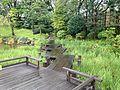 Bridge of Momijiyama Garden in Sumpu Castle Park.JPG