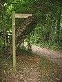 Bridleway - direction Cliddesden - geograph.org.uk - 970687.jpg