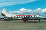 British Air Ferries Vickers Viscount at Manchester Airport.jpg