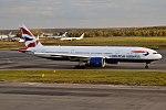 British Airways, G-VIIB, Boeing 777-236 ER (37679870421).jpg
