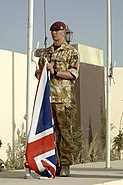 British Army soldier in Afghanistan, May 2006