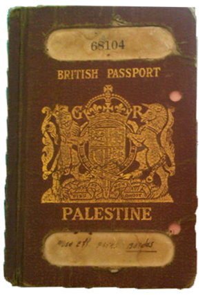 Palestinian Authority passport - Mandatory Palestine passport, as issued by the British authorities between 1924 and 1948